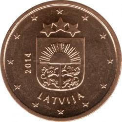מטבע > 1סנט, 2014-2018 - לטביה  - obverse