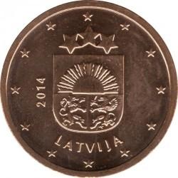 מטבע > 2סנטיורו, 2014-2018 - לטביה  - obverse