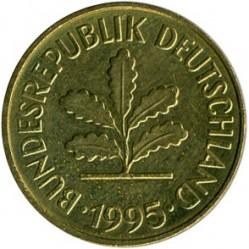 Münze > 5Pfennig, 1995 - Deutschland  - obverse