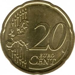 Монета > 20центів, 2014-2018 - Латвія  - reverse