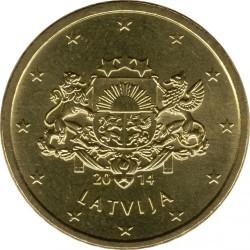 מטבע > 50סנט, 2014-2018 - לטביה  - obverse