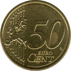 Münze > 50Eurocent, 2014-2018 - Lettland   - reverse