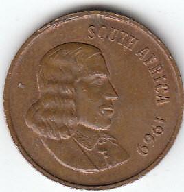 2 Cent 1965 1969 South Africa Südafrika Münzen Wert Ucoinnet