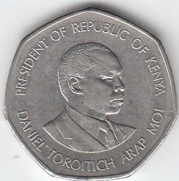 5 Schilling 1994 Kenia Münzen Wert Ucoinnet