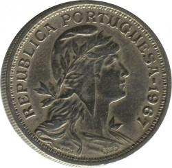 Coin > 50centavos, 1927-1968 - Portugal  - obverse