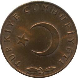 Mynt > 5kurus, 1958-1968 - Tyrkia  - obverse