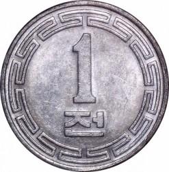 Moneta > 1chon, 1959-1970 - Corea del Nord  - reverse
