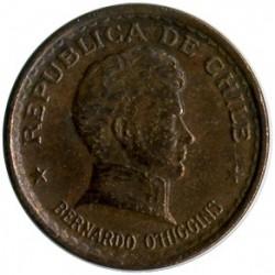 Moneda > 20centavos, 1942-1953 - Chile  - obverse