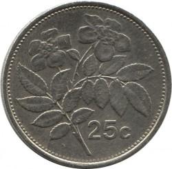 מטבע > 25סנט, 1991-2007 - מלטה  - reverse