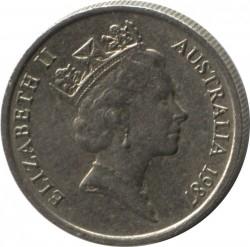 Mynt > 5cents, 1985-1998 - Australia  - obverse