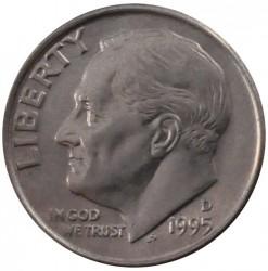 Minca > 1dime, 1965-2019 - USA  (Roosevelt Dime) - obverse