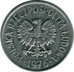Coin > 10groszy, 1976 - Poland  - obverse