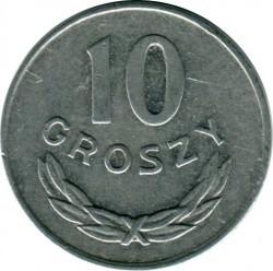 Coin > 10groszy, 1976 - Poland  - reverse