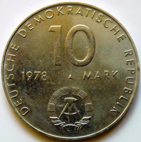 10 Mark 1978 Udssr Ddr Weltraumflug Deutschland Ddr Münzen