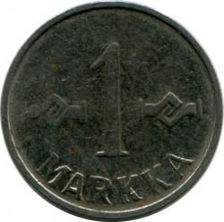 Münze > 1Mark, 1955 - Finnland  - obverse