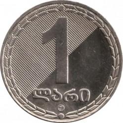 Монета > 1ларі, 2006 - Грузія  - reverse