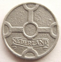 Монета > 1цент, 1941-1944 - Нідерланди  - obverse