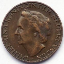 Monēta > 1cents, 1948 - Nīderlande  - obverse
