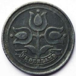 Monēta > 10centu, 1941-1943 - Nīderlande  - obverse