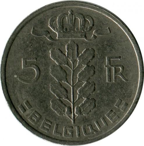 5 Francs 1948 1981 Belgique Belgium Coin Value Ucoin Net