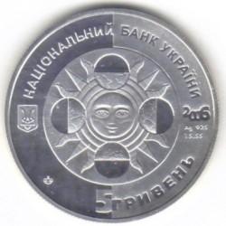 Moneta > 5hrywien, 2006 - Ukraina  (Znaki zodiaku - Byk) - obverse