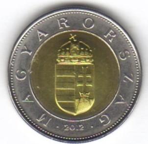 100 Forint 2012 2018 Ungarn Münzen Wert Ucoinnet