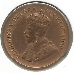 سکه > 1سنت, 1920-1936 - کانادا  - obverse