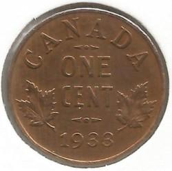 سکه > 1سنت, 1920-1936 - کانادا  - reverse