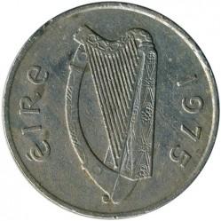 Moneta > 10pensów, 1969-1986 - Irlandia  - obverse
