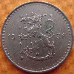 Münze > 25Penny, 1936 - Finnland  - obverse
