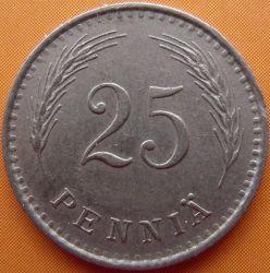 Münze > 25Penny, 1936 - Finnland  - reverse