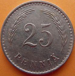 Münze > 25Penny, 1939 - Finnland  - reverse