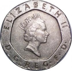 Vereinigtes Königreich 20 Pence 1989 Km 939 Münzkatalog Ucoinnet