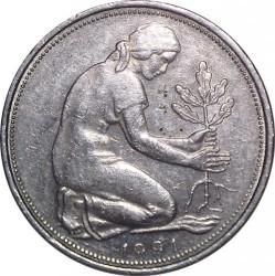 Münze > 50Pfennig, 1991 - Deutschland  - reverse