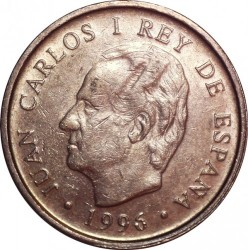 Coin > 100pesetas, 1996 - Spain  (National Library) - reverse
