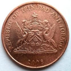 錢幣 > 1分, 1976-2016 - 千里達及托巴哥  - obverse