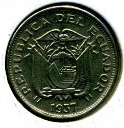 錢幣 > 10分, 1937 - 厄瓜多  - obverse
