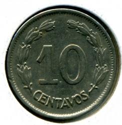 錢幣 > 10分, 1937 - 厄瓜多  - reverse