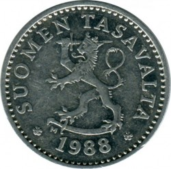 سکه > 10پنیا, 1983-1990 - فنلاند  - reverse