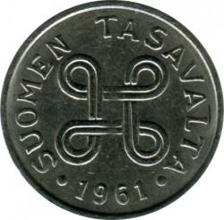 Münze > 1Mark, 1961 - Finnland  - obverse