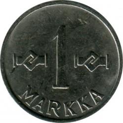 Münze > 1Mark, 1961 - Finnland  - reverse