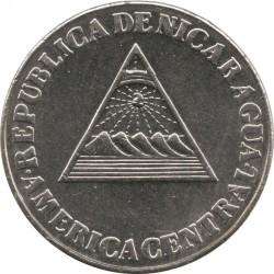 Монета > 5сентаво, 1994 - Нікарагуа  - obverse