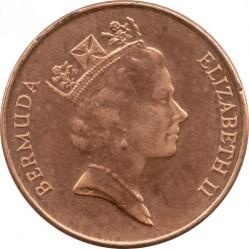 Pièce > 1cent, 1991-1998 - Bermudes  - obverse