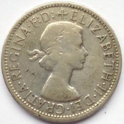 Minca > 2shillings(florin), 1956-1963 - Austrália  - obverse