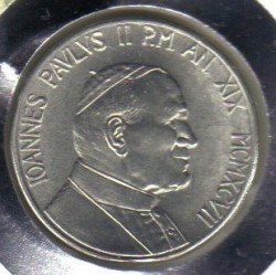 Minca > 10lire, 1997 - Vatikán  - obverse