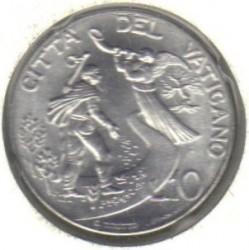 Mynt > 10lire, 1997 - Vatikanstaten  - reverse
