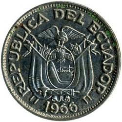 Pièce > 20centavos, 1959-1972 - Équateur  - obverse