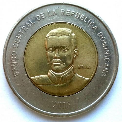 10 Pesos 2005 2016 Dominikanische Republik Münzen Wert Ucoinnet