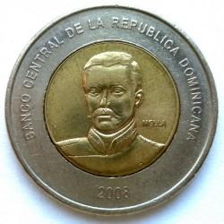 Minca > 10pesos, 2005-2016 - Dominikánska republika  - obverse