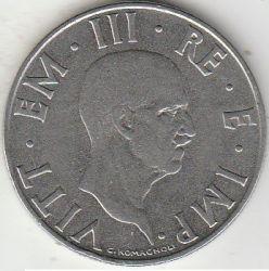 Moneda > 2liras, 1939-1940 - Italia  - obverse